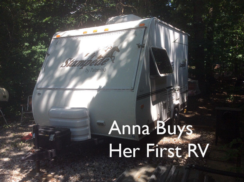 Anna Buys her First RV