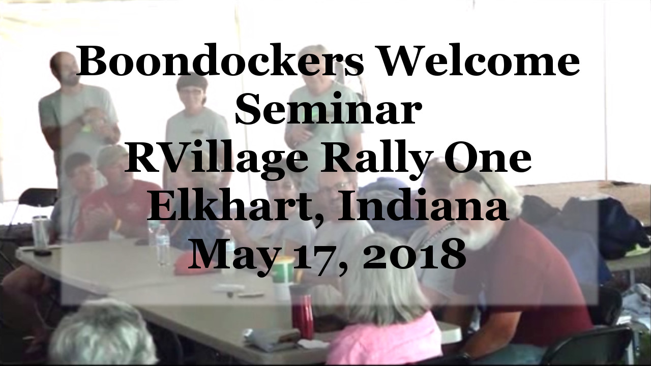 All your Boondockers Welcome questions, answered!