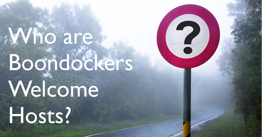 Who Are Boondockers Welcome Hosts?