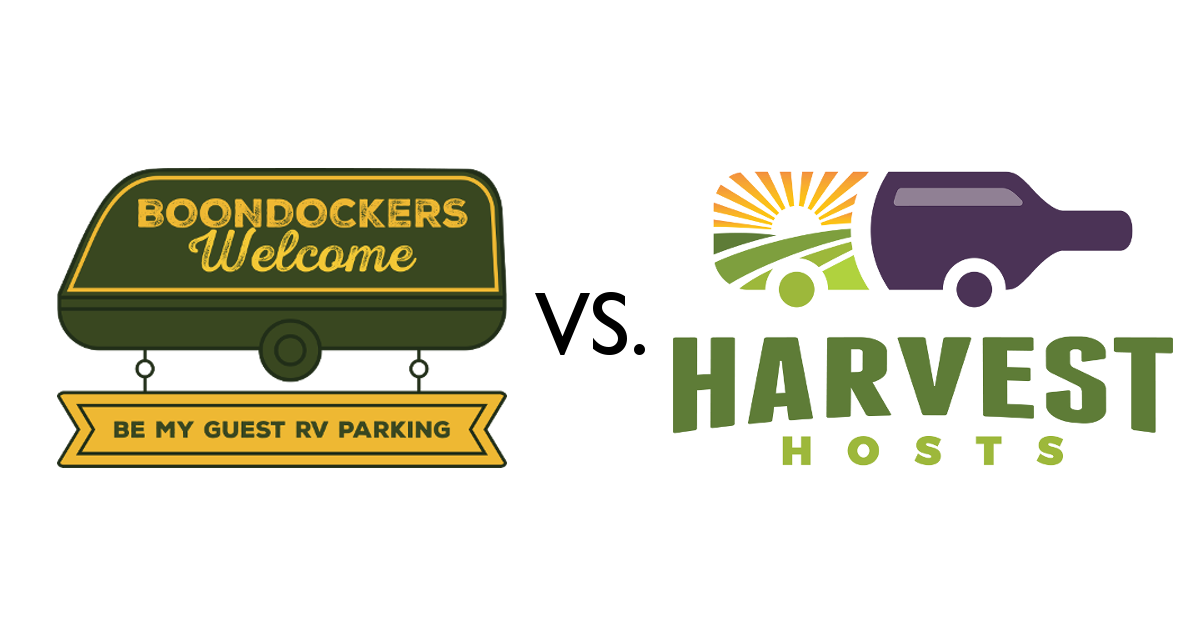 Guest blog: Boondockers Welcome vs. Harvest Hosts