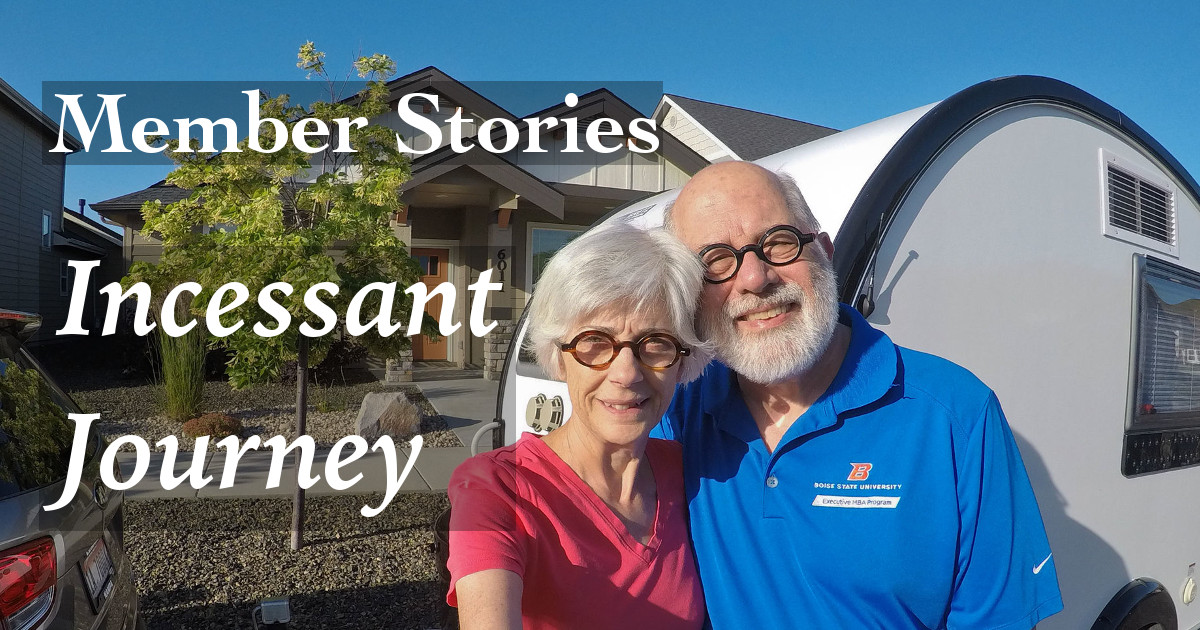 Members Stories: Incessant Journey