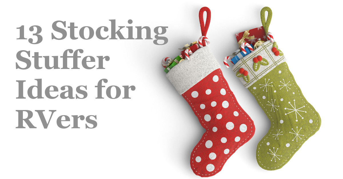 13 Great Stocking Stuffers for RVers