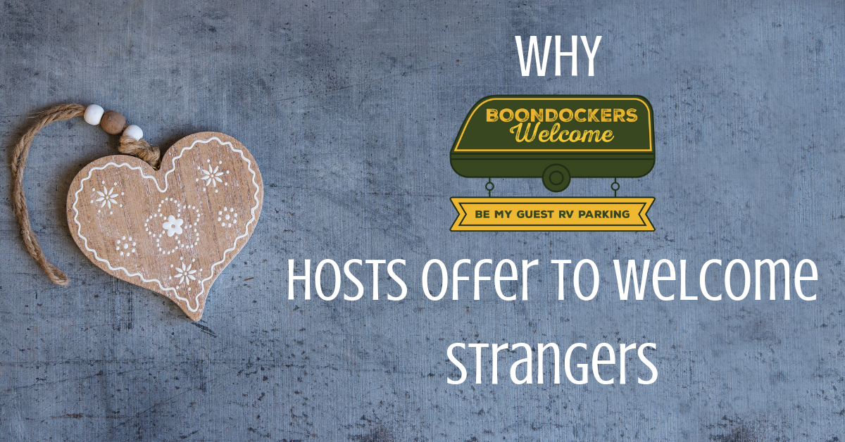 Why our Hosts Offer to Welcome Strangers