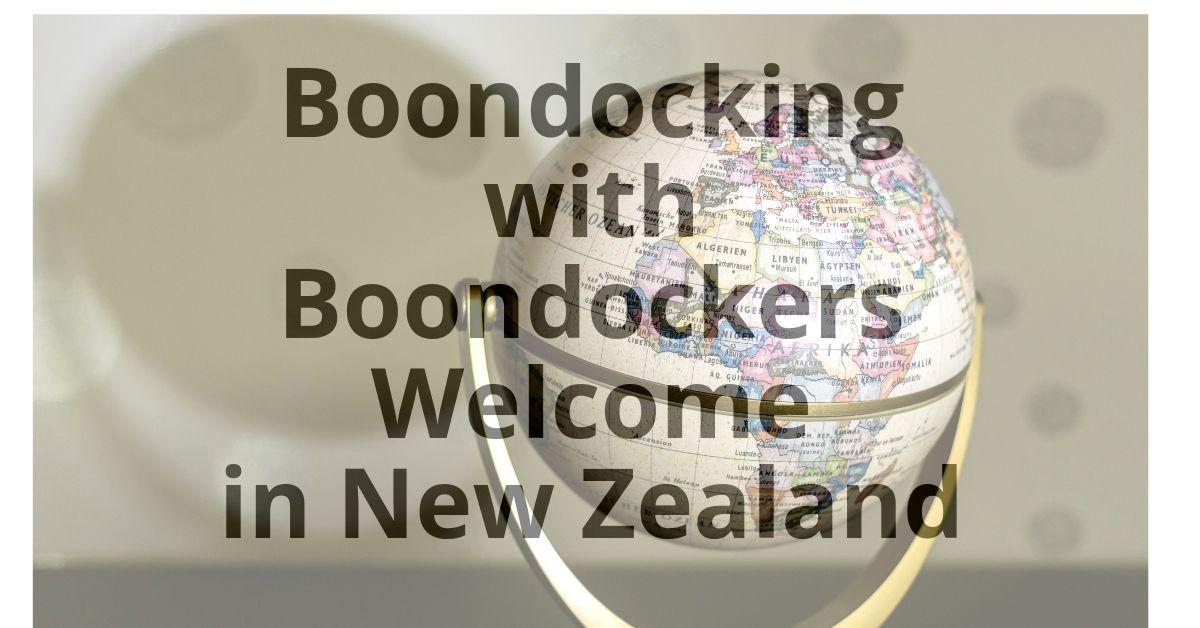 Boondockers Welcome in New Zealand