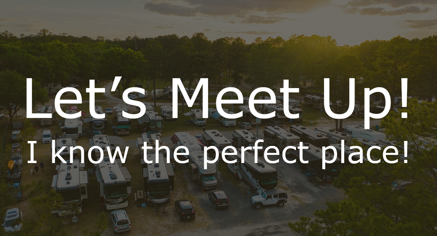 Let's Meet Up! I know the perfect place!