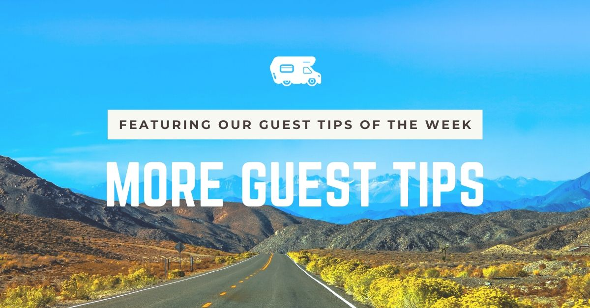 More Guest Tips