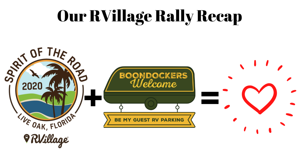 RVillage Rally 2020 - We Loved Meeting You!